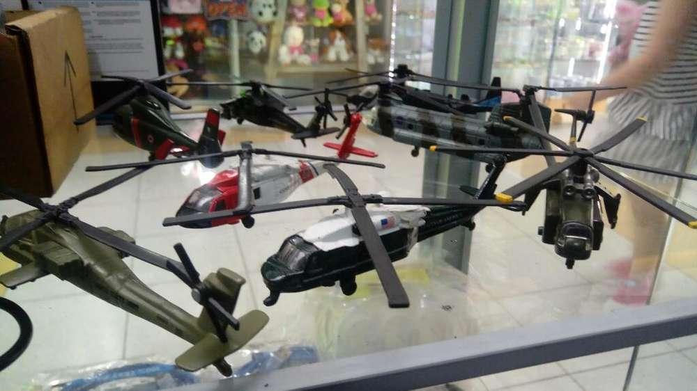 Helicopteros Metalicos. de Coleccion