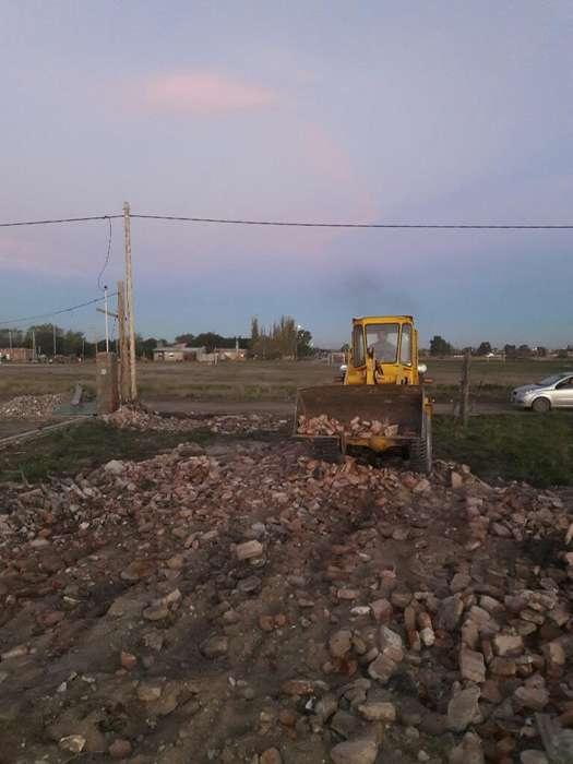 Escombro Triturado Y Limpieza de Terreno
