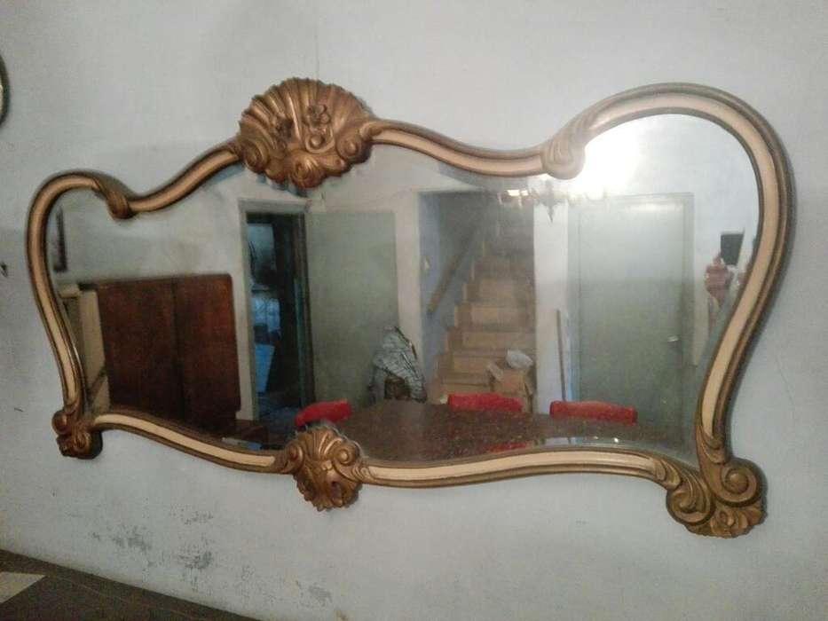 Espejo Antiguo Estilo Frances Biselado