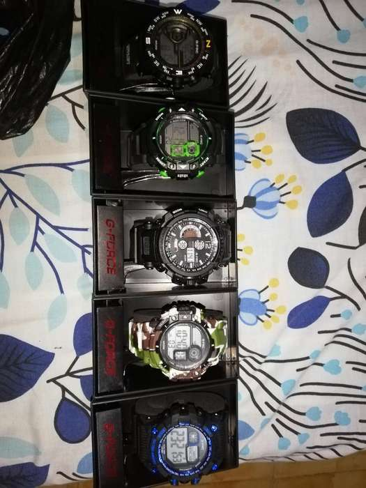 Reloj G Force