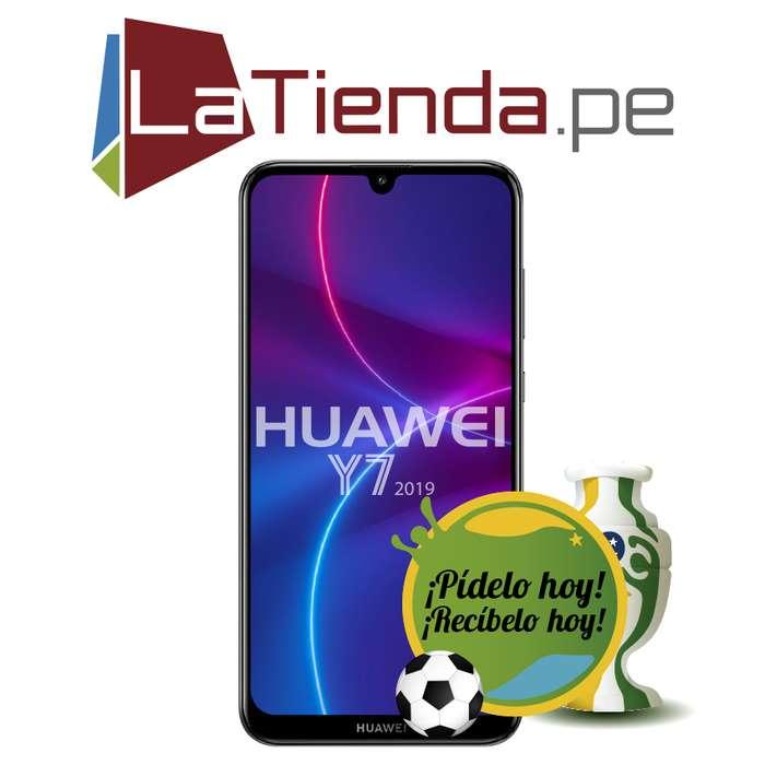 Huawei Y7 2019 3GB de RAM y 32GB de almacenamiento interno