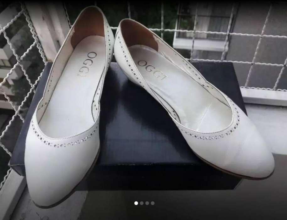 Zapatos Mujer Oggi Nro 37 Un Solo Uso