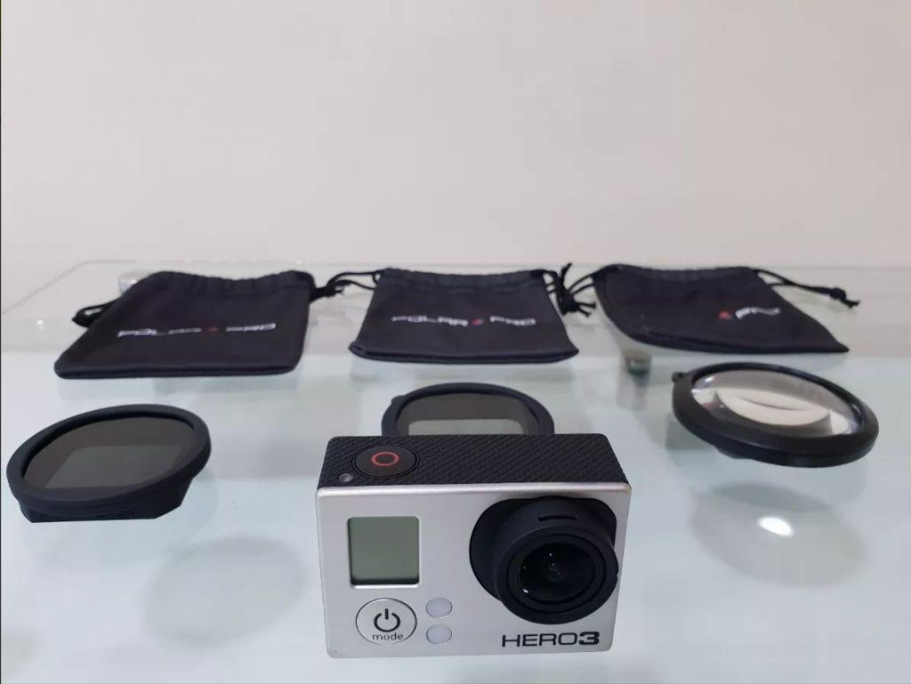 Go Pro Hero 3 Plus con Micro Sd De 200gb Oferta...!!!