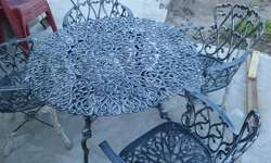 Juego de Jardin en Aluminio