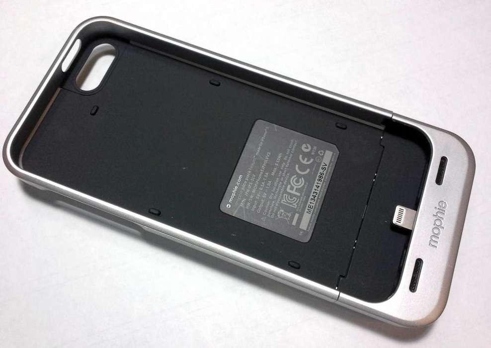 Mophie Juice Pack Helium Para Iphone 5/5s/SE Silver