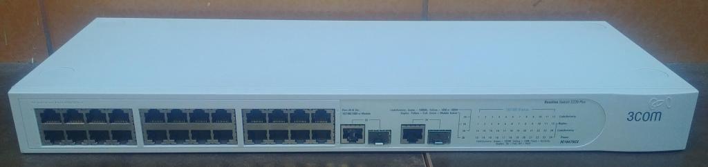 Switch Admin. 3com Baseline 2226 Plus 24 Puertos 10/100  2