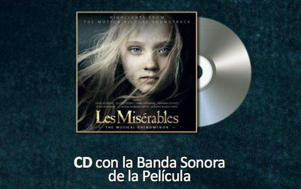 Cd Los Miserables Banda Sonora Pelicula