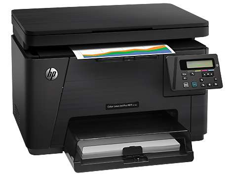 Impresora laser color hp m176n multifuncion con conexion en red.