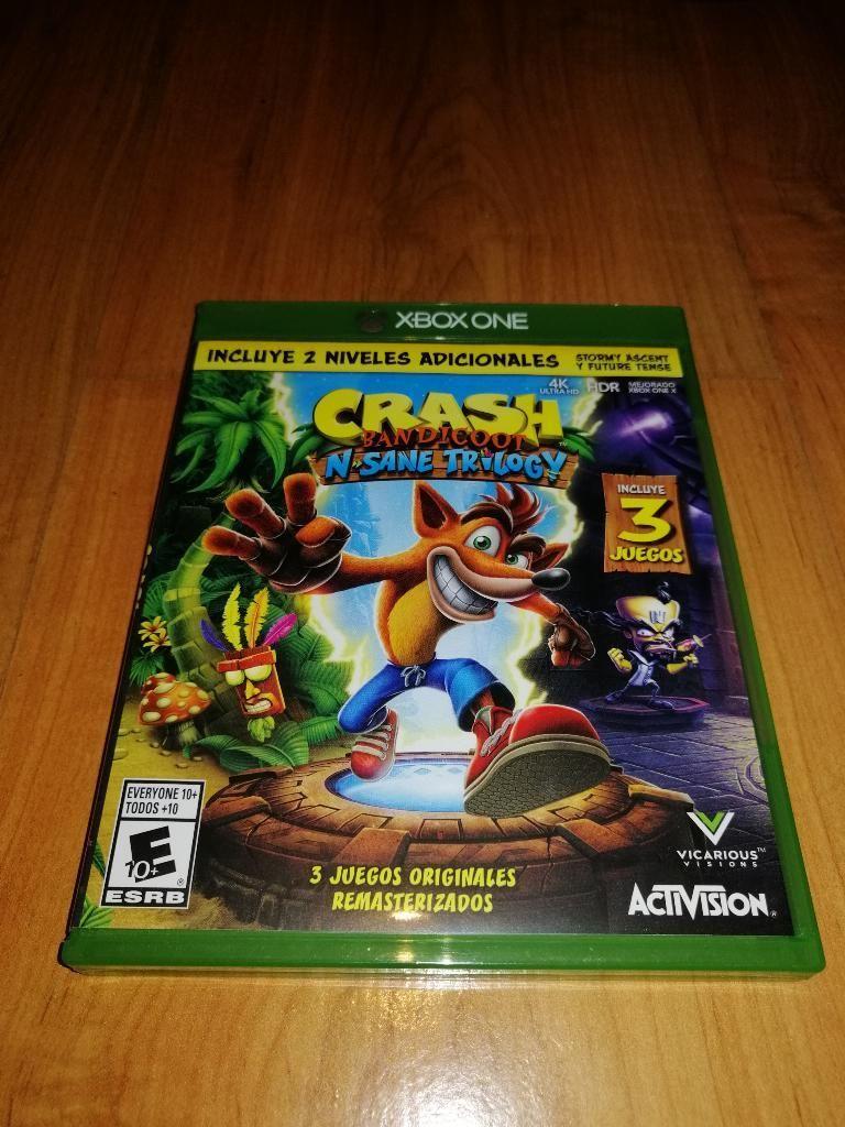 Juego Xboxx One Crash