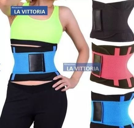 Cinturilla Faja Doble Para Reducir Medidas Hot Shappers Belt