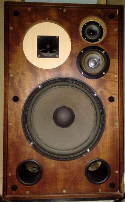 DOS (2) Bafles 70 Watts REALES. Excelente Sonido de Alta Fidelidad. Ideal para Audio Hogar Avanzado.