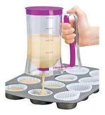 Dispensador Muffins Masa Cupcakes Repostería Tortas Pancakes