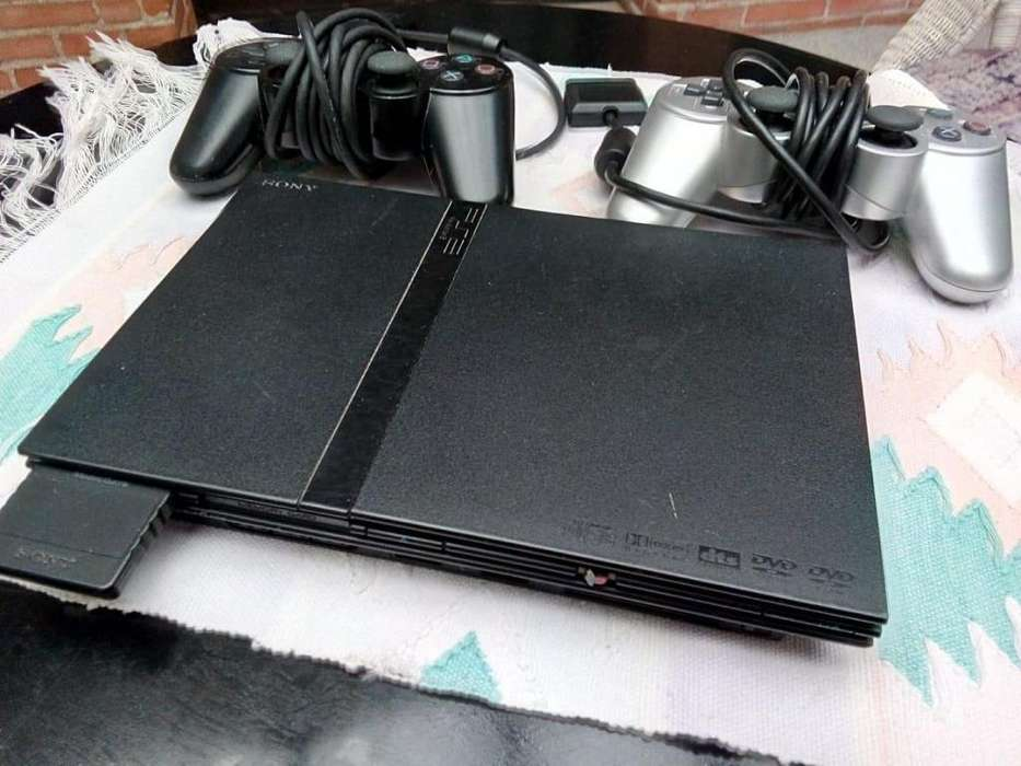 PlayStation 2 Slim Chipeada 2 Controles Memory Card Juegos