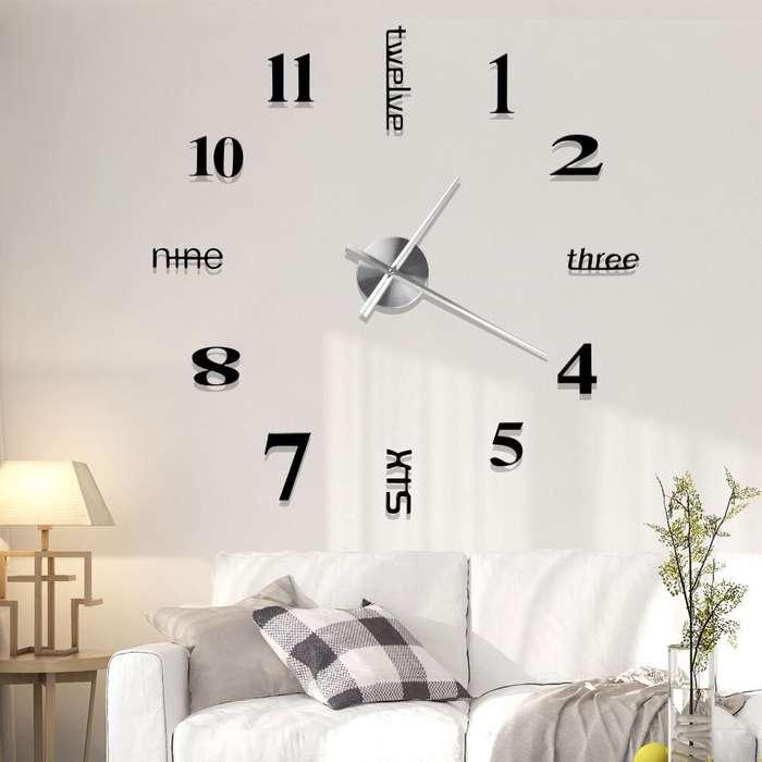 Reloj Gigante. hasta 1.2 Metros Diámetro