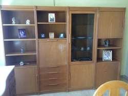Mueble Modular Para Vajilla, Living Comedor. Muy Buen Estado