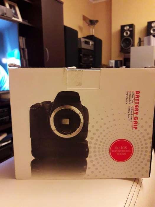 Grip para Nikon Linea D3000, 3200, 3300