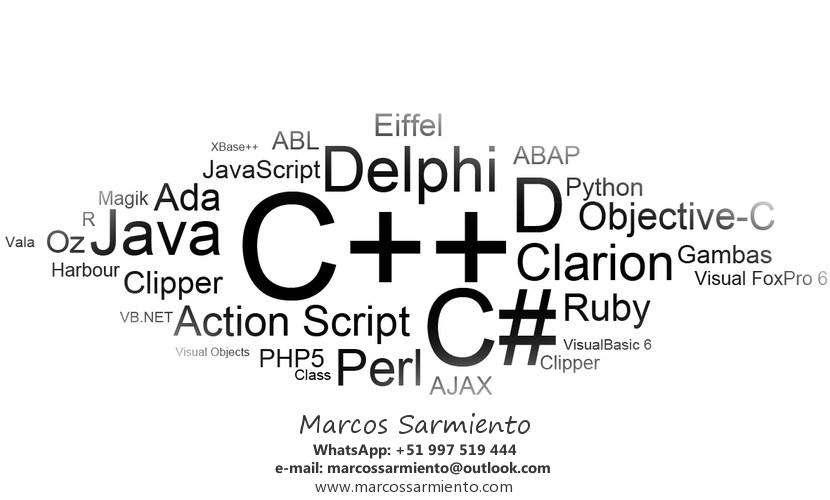 CLASES PROFESOR PARTICULAR DE PROGRAMACIÓN EN RUBY ON RAILS, JAVA, C, C, VISUAL BASIC .NET, SQL SERVER, MYSQL, EXCEL