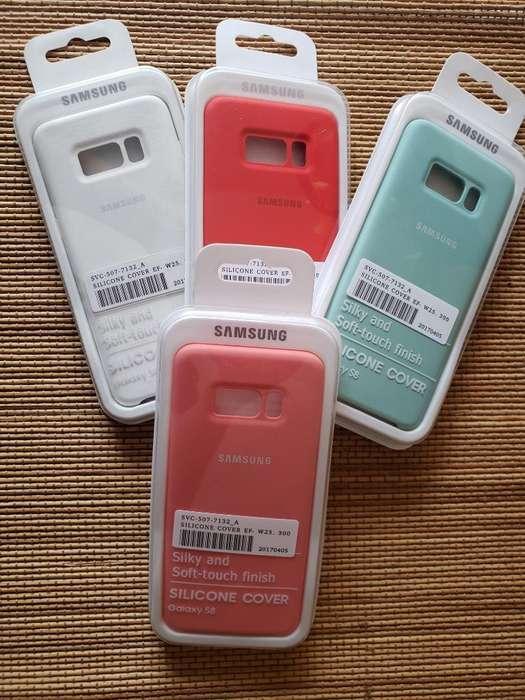 Protector Silicona Galaxy S8
