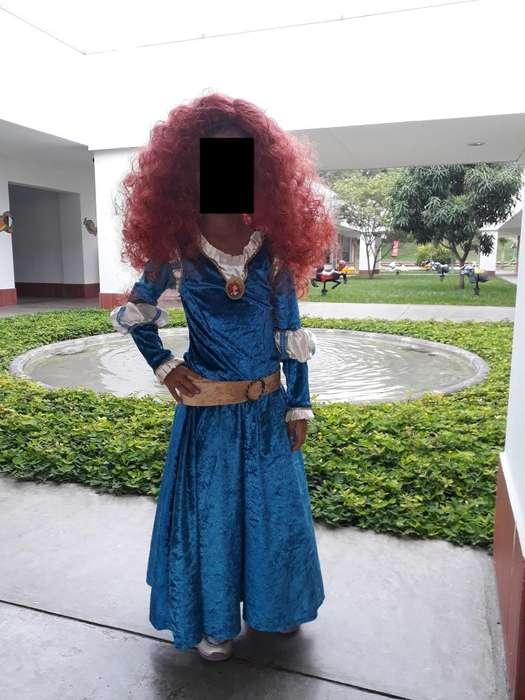 Disfraz de Princesa Merida como nuevo