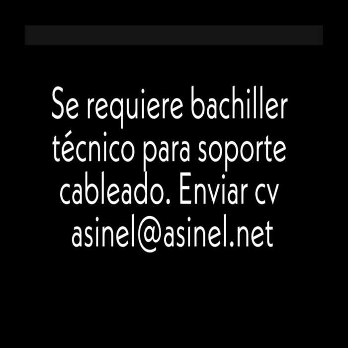 Bachiller Tecnico