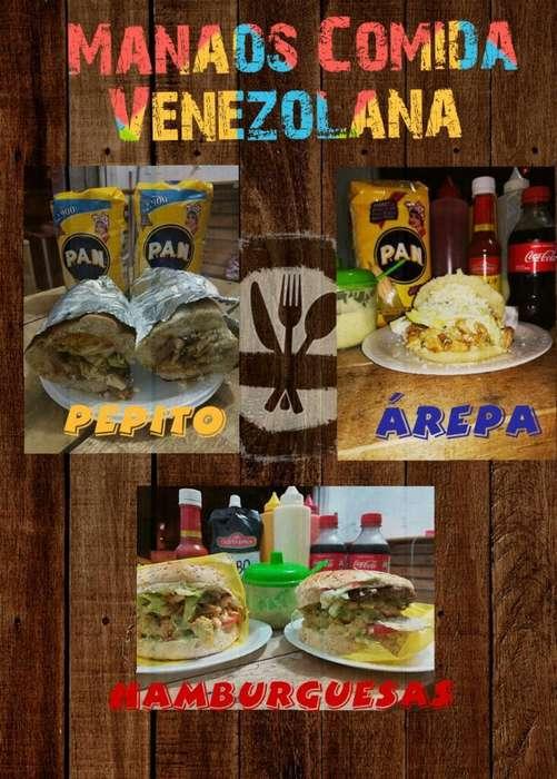 Comida Rapida con Sabor Venezolano