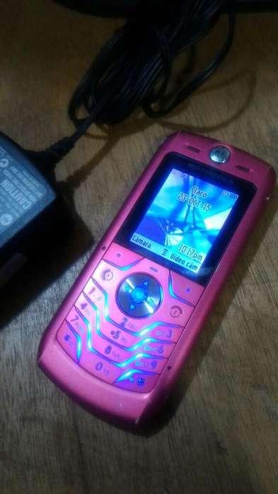 Motorola L6 Clásico Rosa
