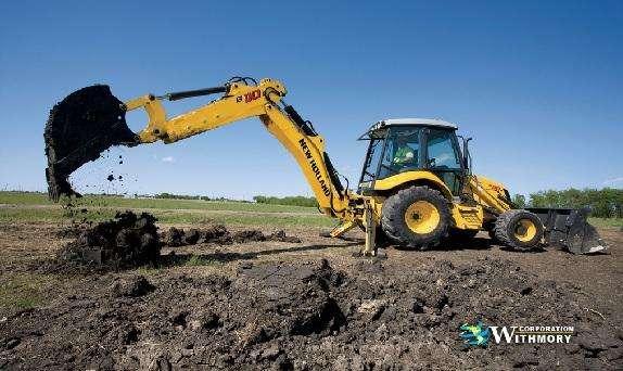 Tractor Retroexcavadora New Holland B110B.