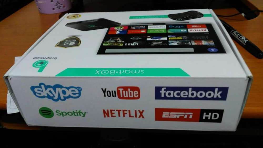 TV BOX CONVIERTE SU TV NORMAL A SMARTV