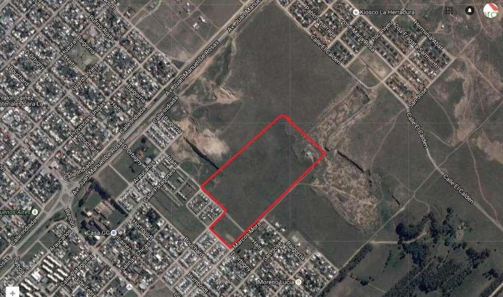 VENTA LOTE DE TERRENO DE 3,9 ha , BARRIO 12 DE OCTUBRE-BAHIA BLANCA - PCIA BS AS.