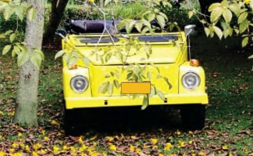 <strong>volkswagen</strong> Safari 1979 - 1000 km