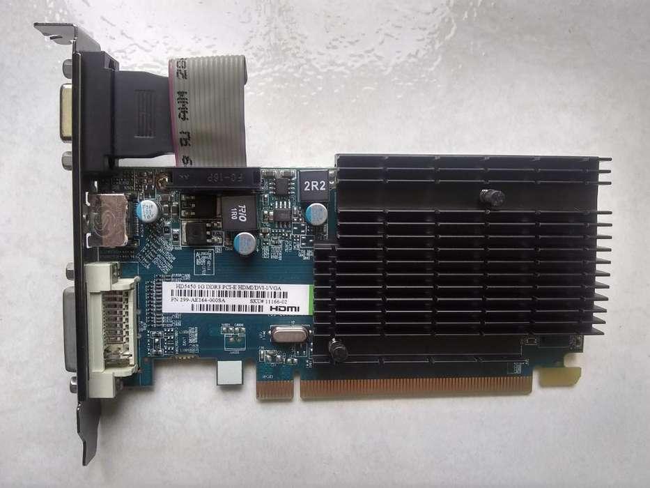Tarjeta Grafic Ati Radeon Hd5450 Ddr3 1g