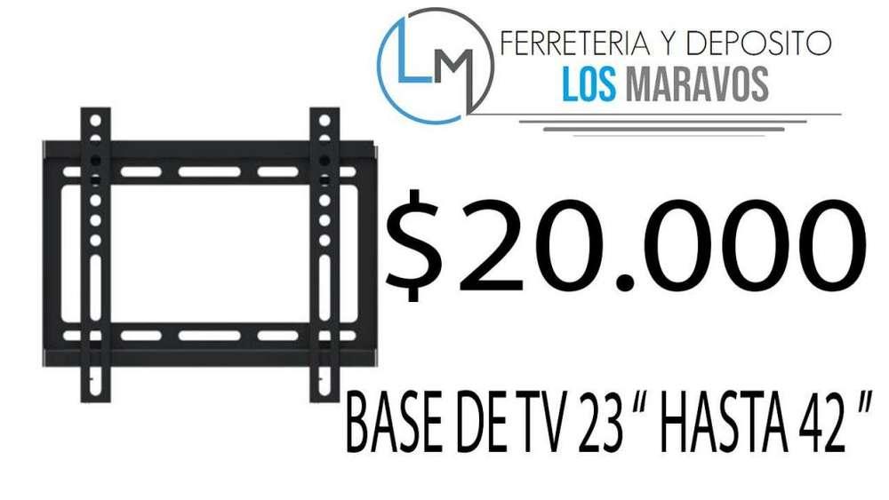 BASE DE TV DESDE 23 HASTA 42 SOPORTE FIJO