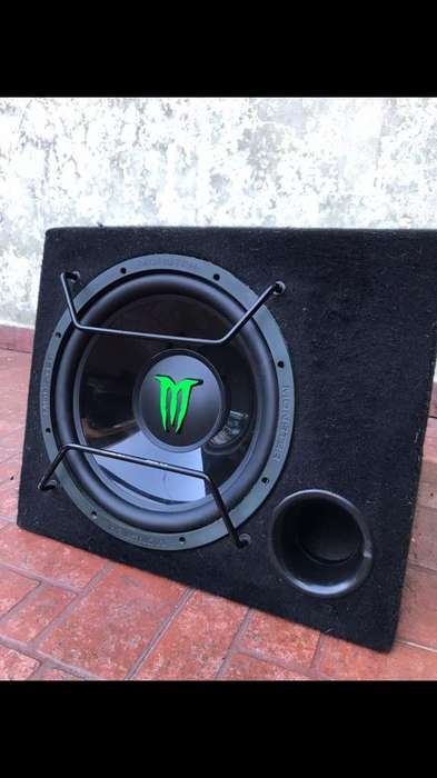 Subwoofer Monster 12' Como Nuevo !!