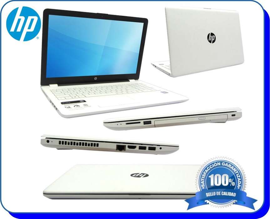 Portatil HP 14 bs011la Core i3 Ram 4GB Disco 1TB 1GR65LA Blanco