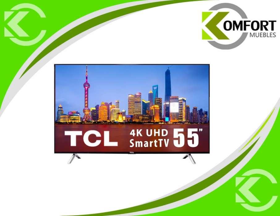 <strong>televisor</strong> 55 PULGADAS TCL SMART TV