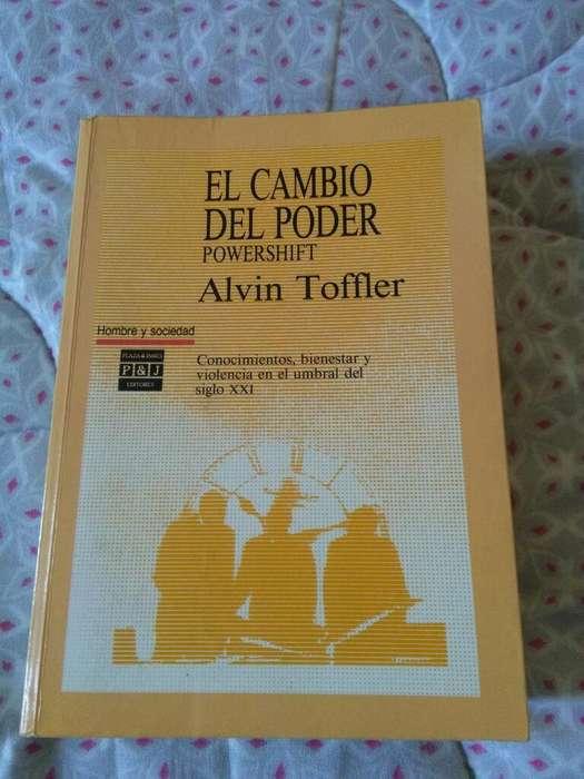 El Cambio Del Poder . Powershift . Alvin Toffler . Libro