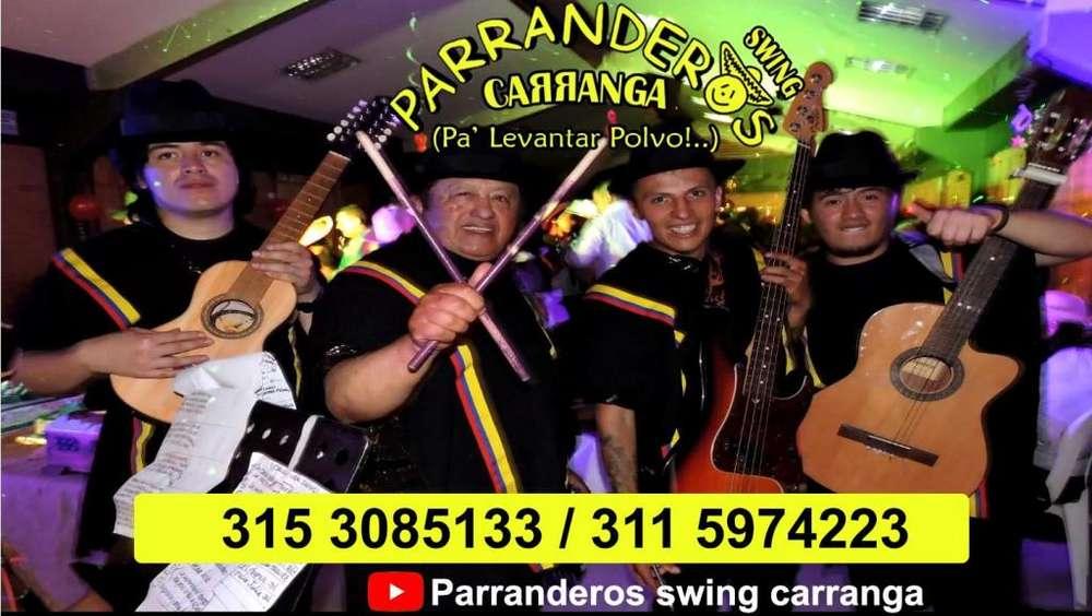 Sensacional SHOW CARRANGUERO Complacemos su gusto musical en cualquier celebración. serenata . musicos . carranga