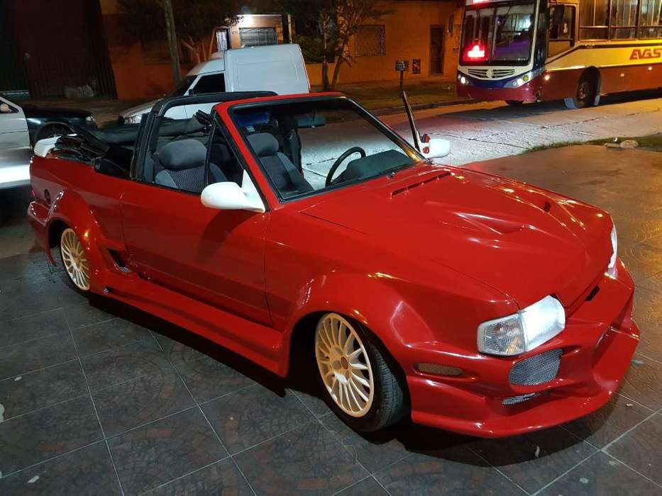 ford escort xr3 cabriolet 1992