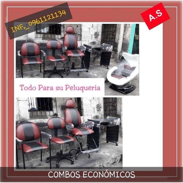 Combos Económicos Peluquería 0961121134