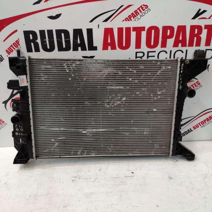 Radiador De Agua Chevrolet Prisma 2850 Oblea:03162495