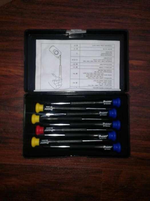 Kit de 9 Desarmadores para Celular