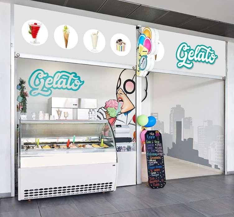 Se necesita vendedora para punto de venta en heladería
