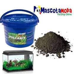 Vulcanit sustrato nutritivo volcanico para acuarios plantados tachos originales