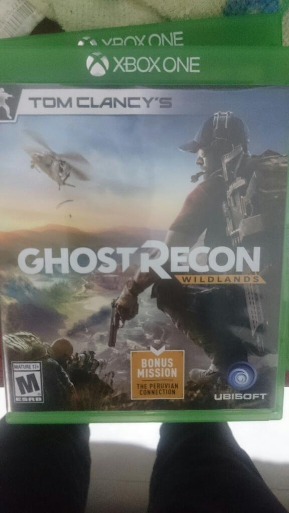 Vendo Juego Ghost Recon para Xbox One