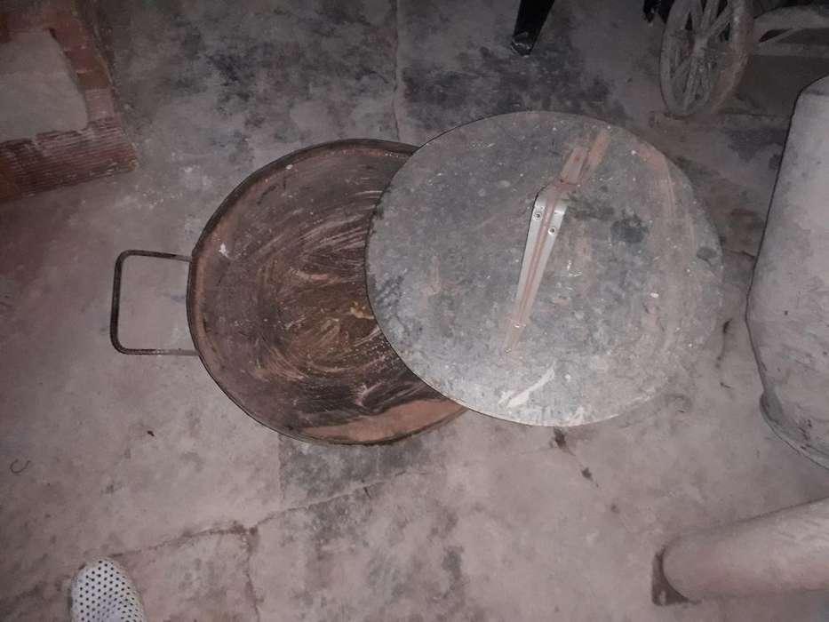 Vendo Paella de Disco de Arado con Tapa