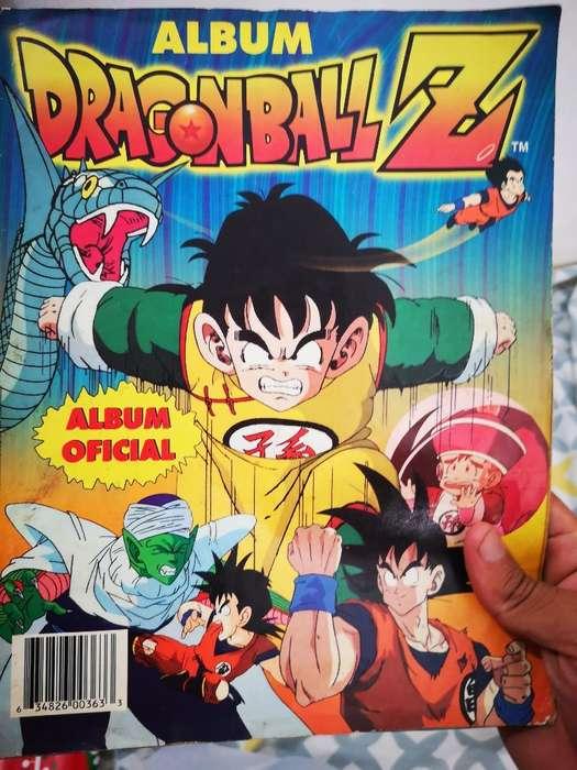 Álbum Dragon Ball Z Completo