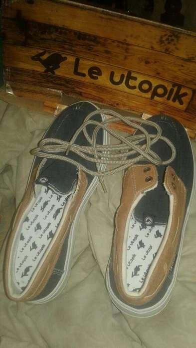 Zapatillas,marca Le Utopik,cero,talle 43