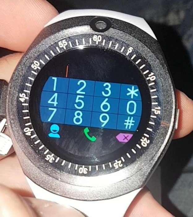 Reloj Inteligente con Bluetooth, Camara.