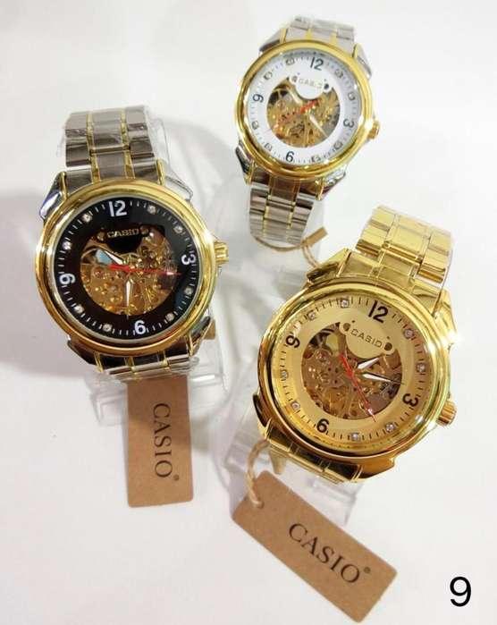 Reloj Automático Casio <strong>rolex</strong> Y Fossil