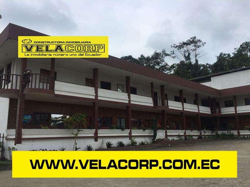 VENDO HOTEL EN LA VÍA QUININDE KM 2 DE 2.19 HECTÁREAS